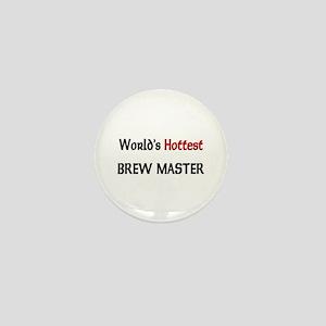 World's Hottest Brew Master Mini Button