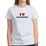 I Love Mavericks - Women's T-Shirt