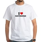 I Love Mavericks - White T-Shirt