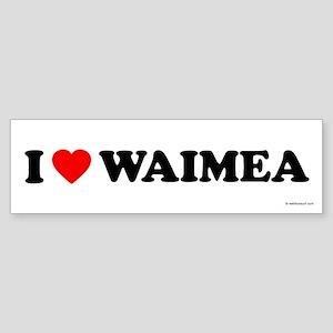 I Love Waimea - Bumper Sticker