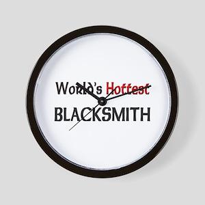 World's Hottest Blacksmith Wall Clock