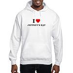 I Love Jeffrey's Bay - Hooded Sweatshirt