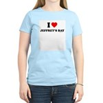 I Love Jeffrey's Bay - Women's Light T-Shirt