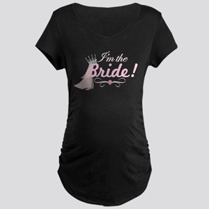 Bride Maternity Dark T-Shirt