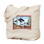 Pickpocketing Whales Tote Bag