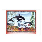 Pickpocketing Whales Postcards (Package of 8)