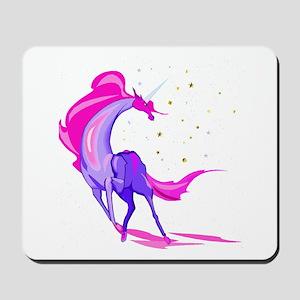 Pink & Purple Unicorn Mousepad