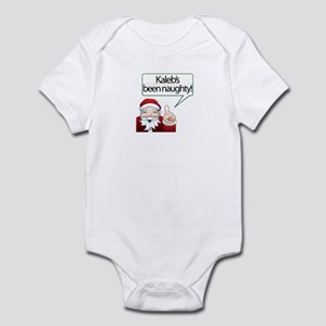 Kaleb's Been Naughty Infant Bodysuit