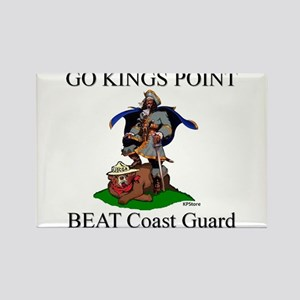 BEAT COAST GUARD!! Rectangle Magnet