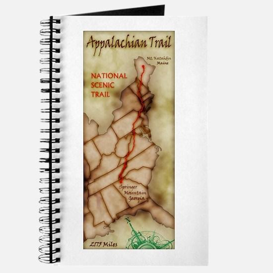 Appalachian Trail Vert. Antique Journal