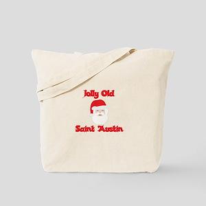 Jolly Old Saint Austin Tote Bag