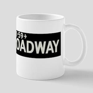 West Broadway in NY Mug