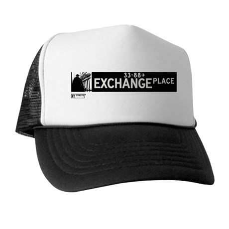 Exchange Place in NY Trucker Hat