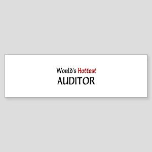 World's Hottest Auditor Bumper Sticker