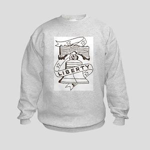 Vintage Liberty Bell Kids Sweatshirt