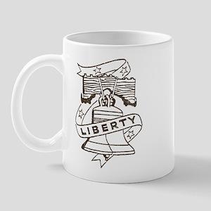 Vintage Liberty Bell Mug