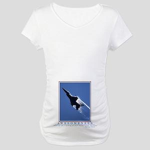 Awesomeness Belly Maternity T-Shirt