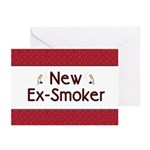 New Ex-Smoker Greeting Cards (Pk of 20)
