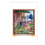 Saving for Winter Postcards (Package of 8)