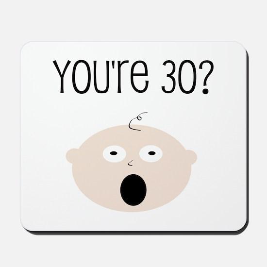 30th Birthday Surprise Mousepad