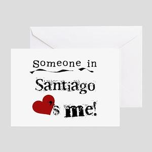 Someone in Santiago Greeting Card