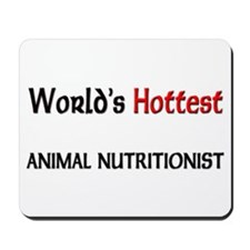 World's Hottest Animal Nutritionist Mousepad