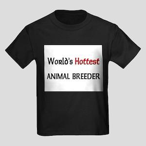 World's Hottest Animal Breeder Kids Dark T-Shirt