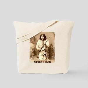 Geronimo Native American Apache Tote Bag