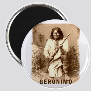 Geronimo Native American Apache Magnet