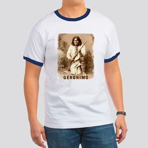 Geronimo Native American Apache Ringer T