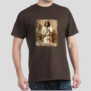 Geronimo Native American Apache Dark T-Shirt