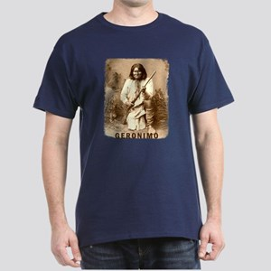 Geronimo Native American Apache Dark T-Shirt