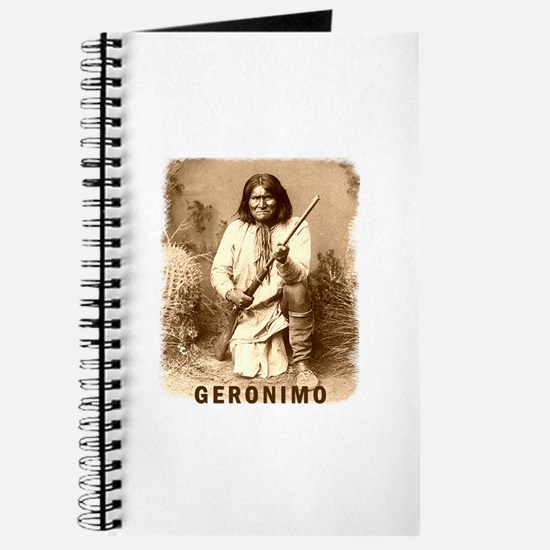 Geronimo Native American Apache Journal