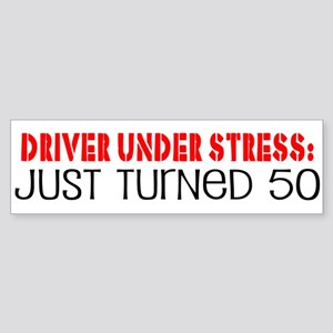 50th Birthday Bumper Sticker