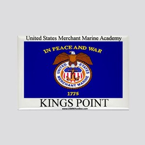 USMM Flag Rectangle Magnet