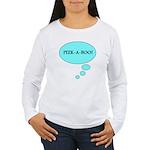 PEEK-A-BOO Women's Long Sleeve T-Shirt