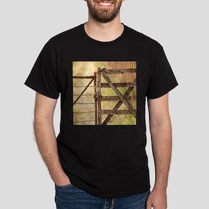 rustic barn door farm T-Shirt