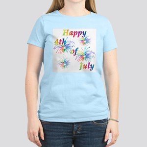 Happy 4th of July Women's Light T-Shirt