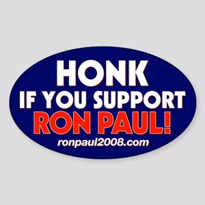 Ron Paul Oval Sticker