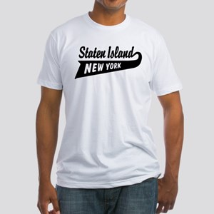 Staten Island New York Fitted T-Shirt