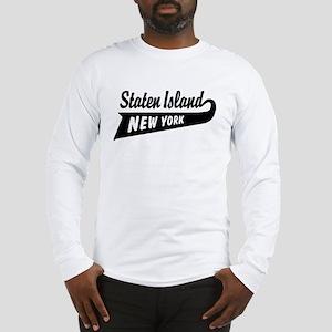 Staten Island New York Long Sleeve T-Shirt