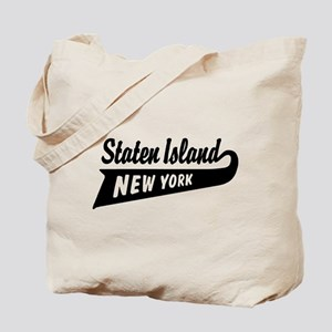 Staten Island New York Tote Bag