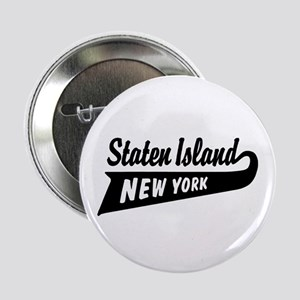 "Staten Island New York 2.25"" Button"