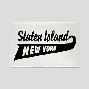 Staten Island New York Rectangle Magnet