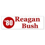 Reagan Bush Bumper Sticker (10 pk)