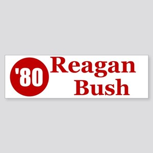 Reagan Bush Bumper Sticker
