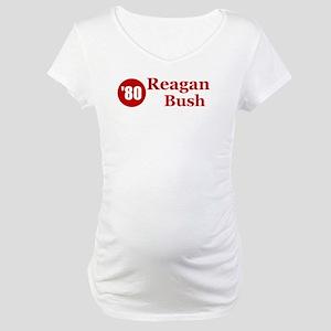Reagan Bush Maternity T-Shirt