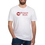 Reagan Bush Fitted T-Shirt