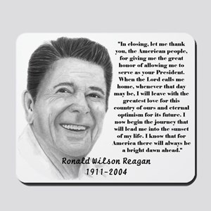 Reagan 1911-2004 Mousepad