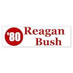 Reagan Bush Bumper Sticker (50 pk)